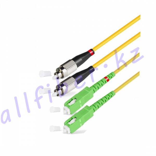 Патч Корд Оптоволоконный SC/APC-FC/UPC SM 9/125 Simplex 3.0мм