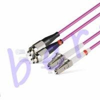 Патч Корд Оптоволоконный FC/UPC-LC/UPC MM OM4 50/125 Duplex 3.0мм