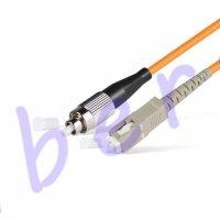 Патч Корд Оптоволоконный FC/UPC-SC/UPC MM OM4 50/125 Simplex 3.0мм 1 м