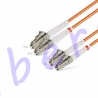 Патч Корд Оптоволоконный LC/UPC-LC/UPC MM OM1 62.5/125 Duplex 3.0мм