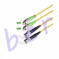 Патч Корд Оптоволоконный FC/APC-ST/UPC SM 9/125 Duplex 2.0мм
