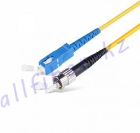 Патч Корд Оптоволоконный SC/UPC-ST/UPC SM 9/125 Simplex 3.0мм