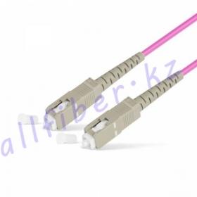 Патч Корд Оптоволоконный SC/UPC-SC/UPC MM OM4 50/125 Simplex 3.0мм