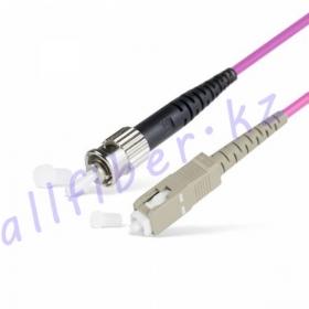 Патч Корд Оптоволоконный ST/UPC-ST/UPC MM OM4 50/125 Simplex 3.0мм 1 м